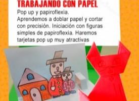 Taller «Trabajando con papel» (14-15)