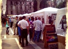 Mercado de Arte de La Asociación Granada Pinta Bien