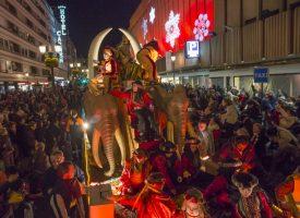 Recorrido de la Cabalgata de los Reyes Magos de Oriente en Granada 2018