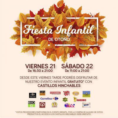 Fiesta Infantil de Otoño: castillos hinchables @ Aparcamiento Parque Comercial Kinépolis | Pulianas | Andalucía | España