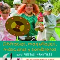 Dos libros con ideas de disfraces y maquillaje de Carnaval