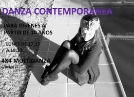 Iniciación a la danza contemporánea (14-15)