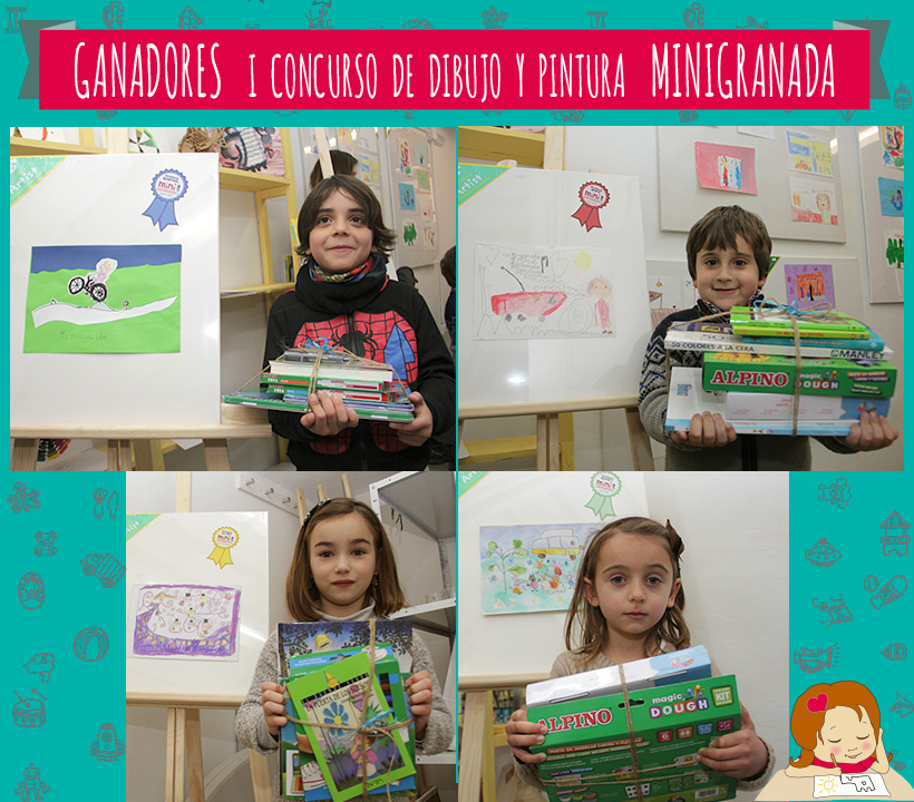 Ganadores I COncurso de Dibujo y Pintura MiniGranada