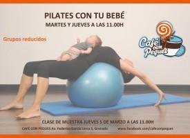 Pilates con tu bebé (14-15)