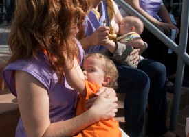 La lactancia materna no es una moda