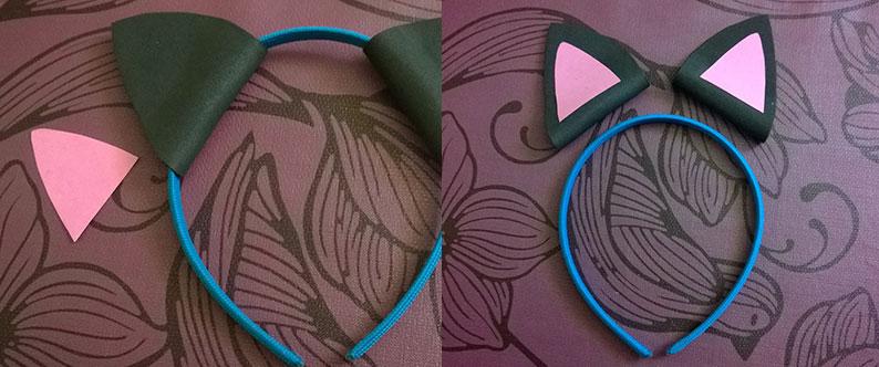 Disfraz de orejas de gato 10
