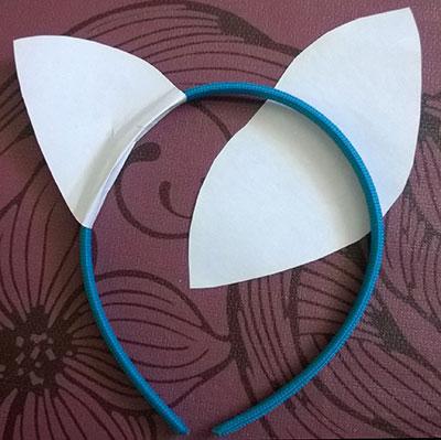 Disfraz de orejas de gato 6