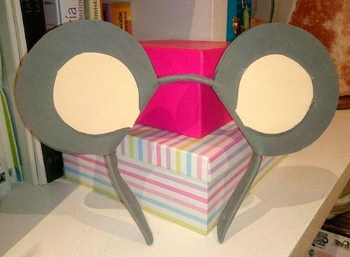 Orejas de ratn para disfraz  MiniGranada