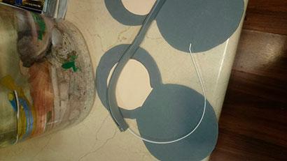 Orejas de ratón para disfraz
