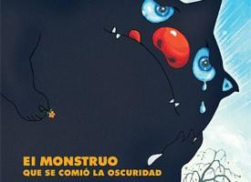 """""""El monstruo que se comió la oscuridad"""", de Joyce Dunbar y Jimmy Liao"""