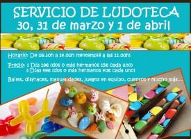 Ludoteca Semana Santa 2015 Café con peques