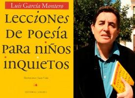 Luis García Montero habla de su obra «Lecciones de Poesía para niños inquietos» en el Día mundial de la Poesía