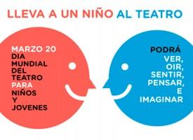 Día Mundial del Teatro Infantil y Juvenil, con Concha Villarrubia