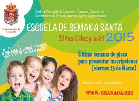 Escuelas de Semana Santa en el Cole 2015