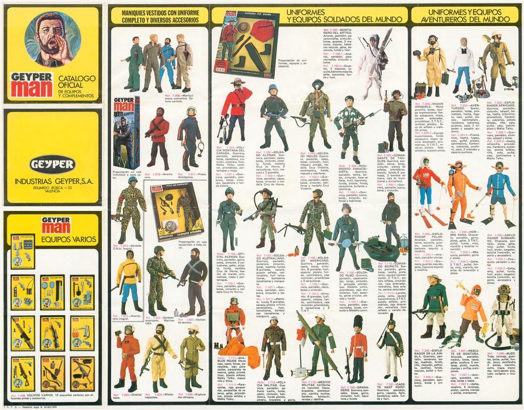 GeyperMan Catálogo