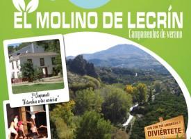 Campamentos de verano en El Molino de Lecrín – 2015