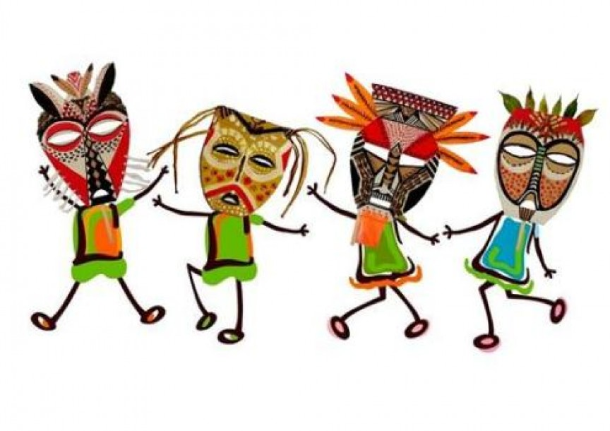 FLG – Máscaras africanas   MiniGranada