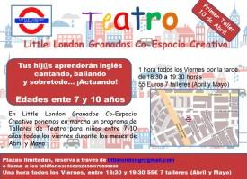 Taller de Teatro en inglés II (14-15)