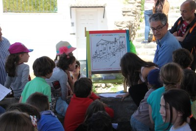 Asimilando conceptos y planteándonos retos de dibujo con Rubén Garrido. Foto: Eva Penélope