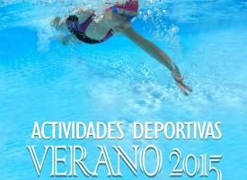 Act. Deportivas Verano 2015 – Concejalía de Deportes