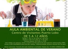 Aula ambiental de verano: La ciencia en tu mano – 2015