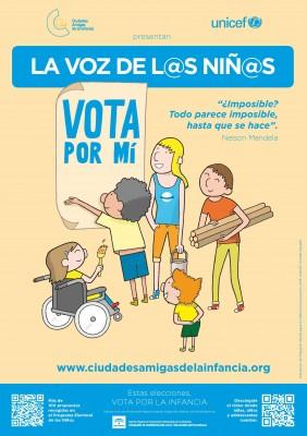 cartel vota por mi