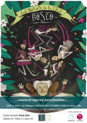 """MONACHIL - Concierto familiar """"Los niños de la Isla"""" (Bosco) @ La Chistera de Monachil   Monachil   Andalucía   España"""