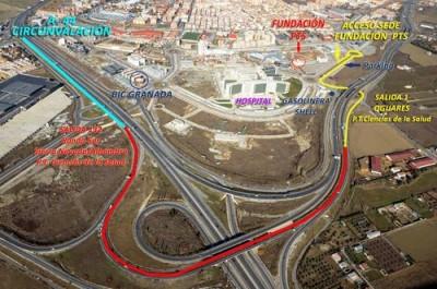 Cómo llegar al Parque Tecnológico de la Salud de Granada