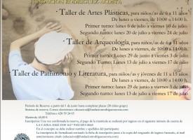 Talleres de verano de la Fundación Rodríguez-Acosta 2015