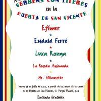 Verbena con Títeres en la Huerta de San Vicente