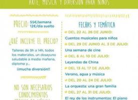 """Campamento Urbano """"Sonrisas musicales"""" 2015"""