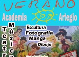 Cursos de verano Artegio 2015