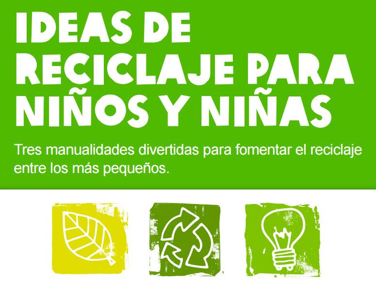 Ideas de reciclaje para ni os y ni as de oxfam interm n - Manualidades para ninos reciclaje ...