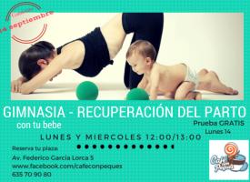Gimnasia de recuperación del parto – con bebé (15-16)