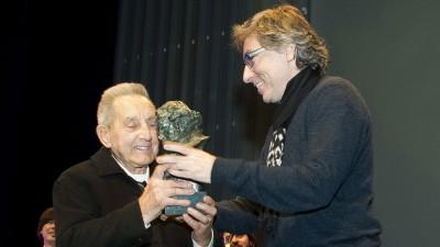 David Trueba y Juan Carrión entrega de Goya 2014. Foto: rtve