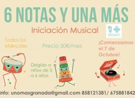 Iniciación Musical «6 notas y Una más» (15-16)
