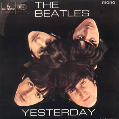 Single Yesterday. The Beatles 1965