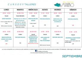 Taller de pintura en El Astillero (15-16)