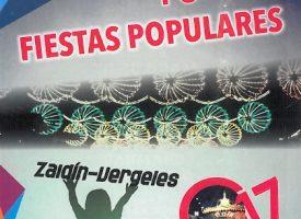 Actividades infantiles y familiares de las Fiestas Populares Zaidín-Vergeles 2017
