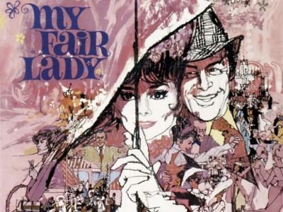 My Fair Lady .1964 dirigida por George Cukor e interpretada por Rex Harrison y Audrey Hepburn.