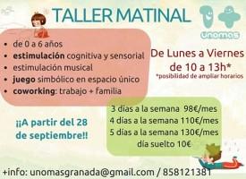 Taller matinal Unomas (15-16)