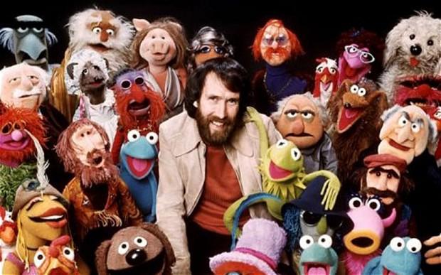 The Muppets con su creador Jim Henson