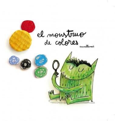 El monstruo de los colores de Ana Llenas