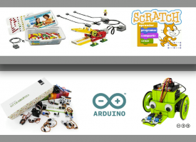 Taller de Robots con Lego, Arduino y Scratch (15-16)