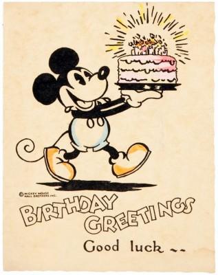 Feliz Cumpleaños Mickey Mouse