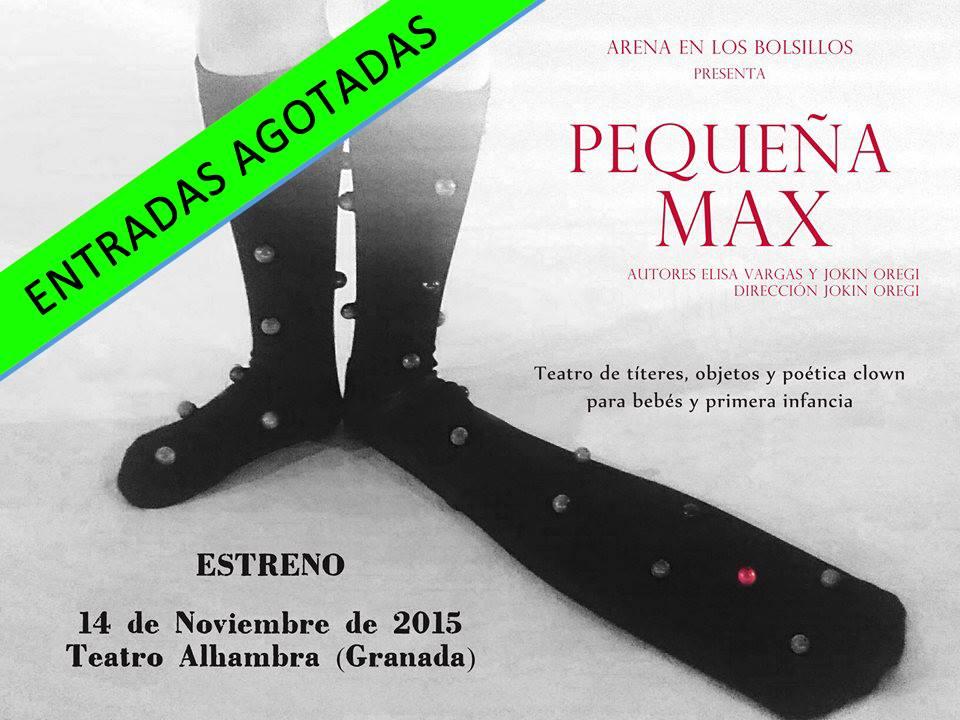 La pequeña Max. Arena en los Bolsillos ( 2015)