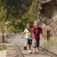 """Ruta """"El Tranvía de Sierra Nevada"""" con niños"""