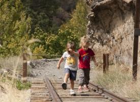 Ruta «El Tranvía de Sierra Nevada» con niños