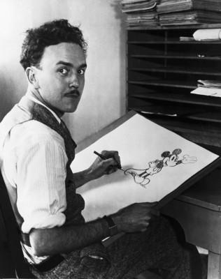 Ub Iwerks . Dibujante de Mickey Mousse