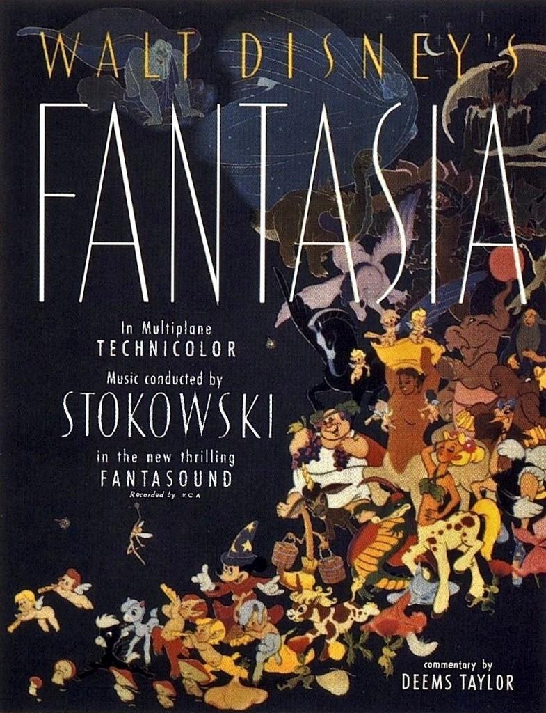 Cartel original Fantasía ( 1940)